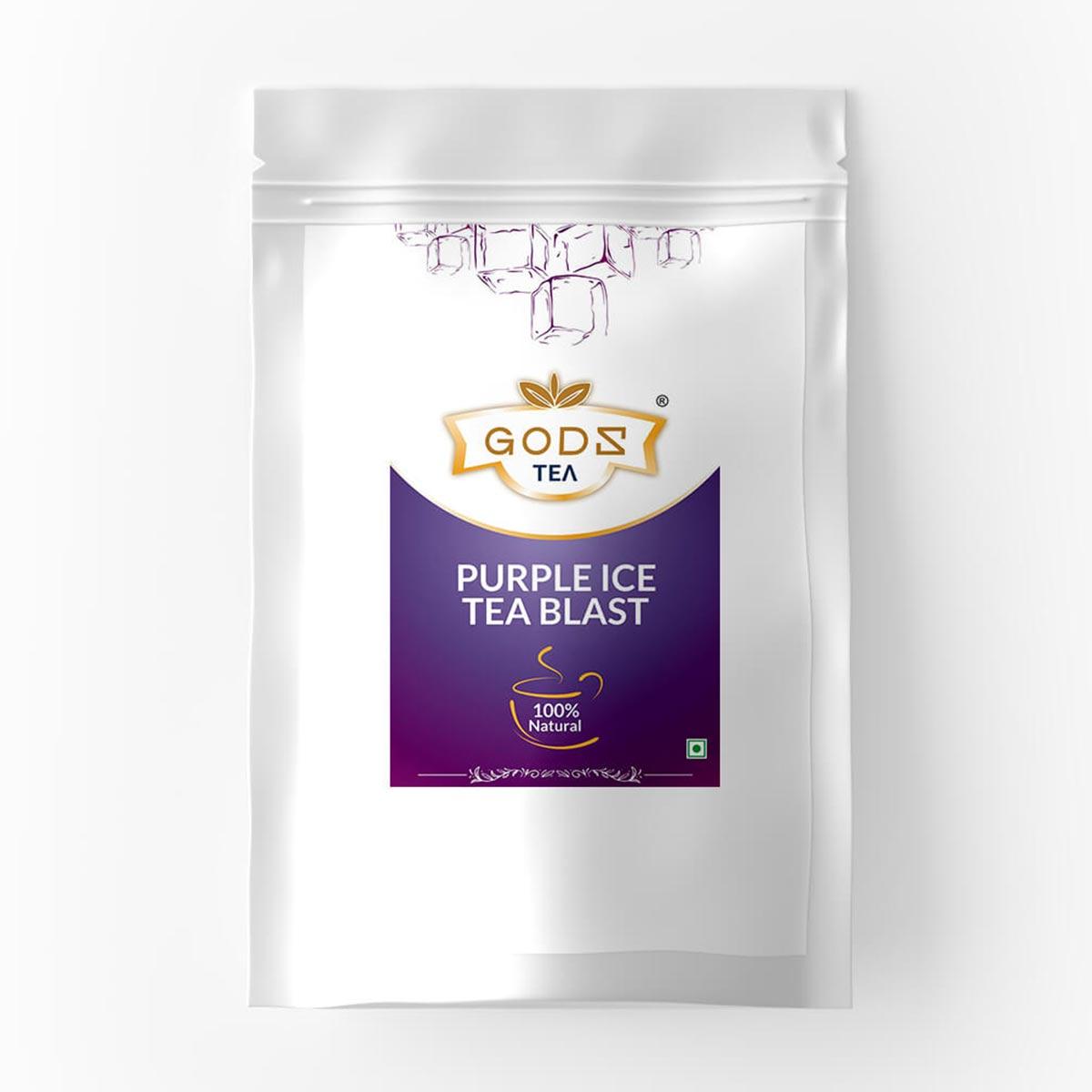 Herbal Purple Ice Tea Blast